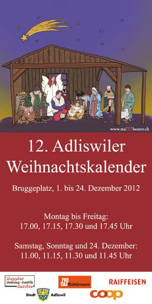Weihnachtskalender 2012